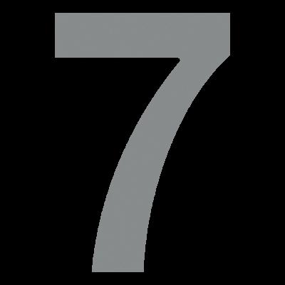 Numer na elewację 7 Bravios