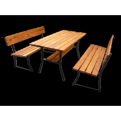 Stół do ogrodu i 2 ławki...