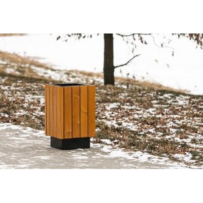 kosz na śmieci parkowy