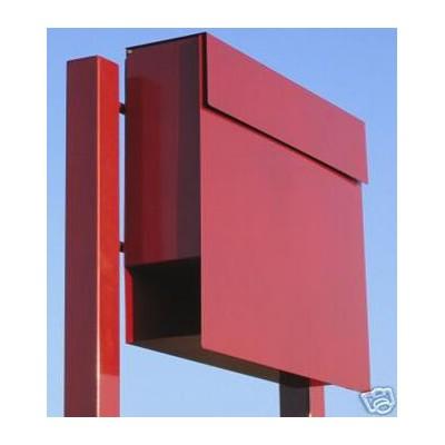 """Stojąca skrzynka na listy """"Manhattan"""" – kolor czerwony"""