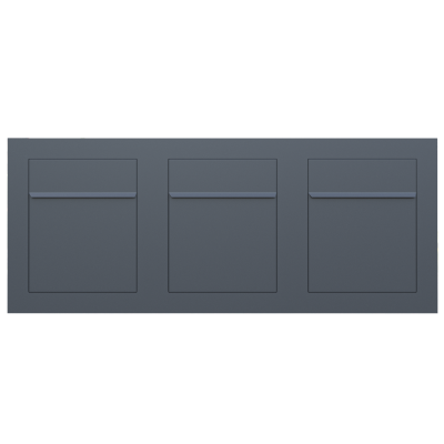 skrzynka na listy antracyt