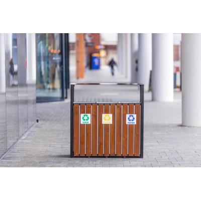 kosz na śmieci do segregacji