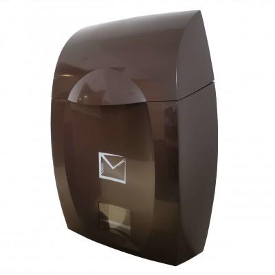 skrzynka pocztowa czekoladowa