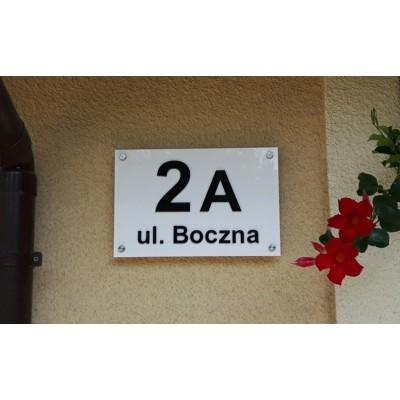 Tabliczka adresowa na dom,...