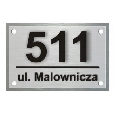 Tabliczka z numerem domu...