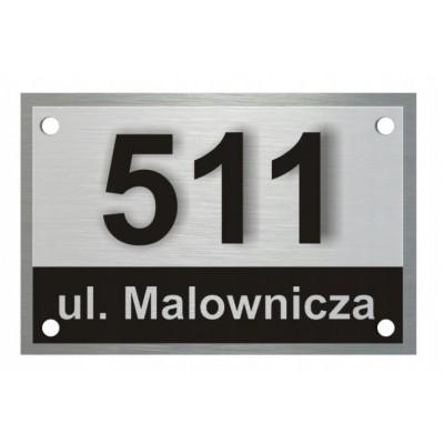 Tabliczka z nazwą ulicy /...