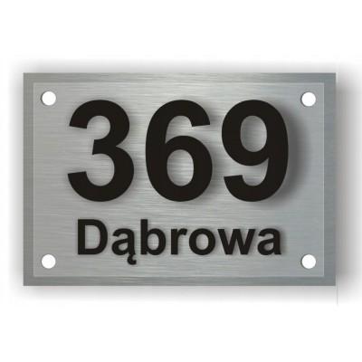 Tabliczka z numerem na dom...