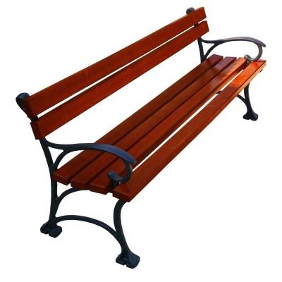 Solidna ławka ogrodowa...